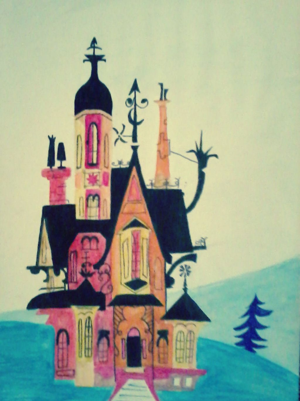 Foster S Home House Fosters Home For Imaginary Friends House Wallpaper Foster S Home For Foster Home For Imaginary Friends Home Wallpaper Imaginary Friend