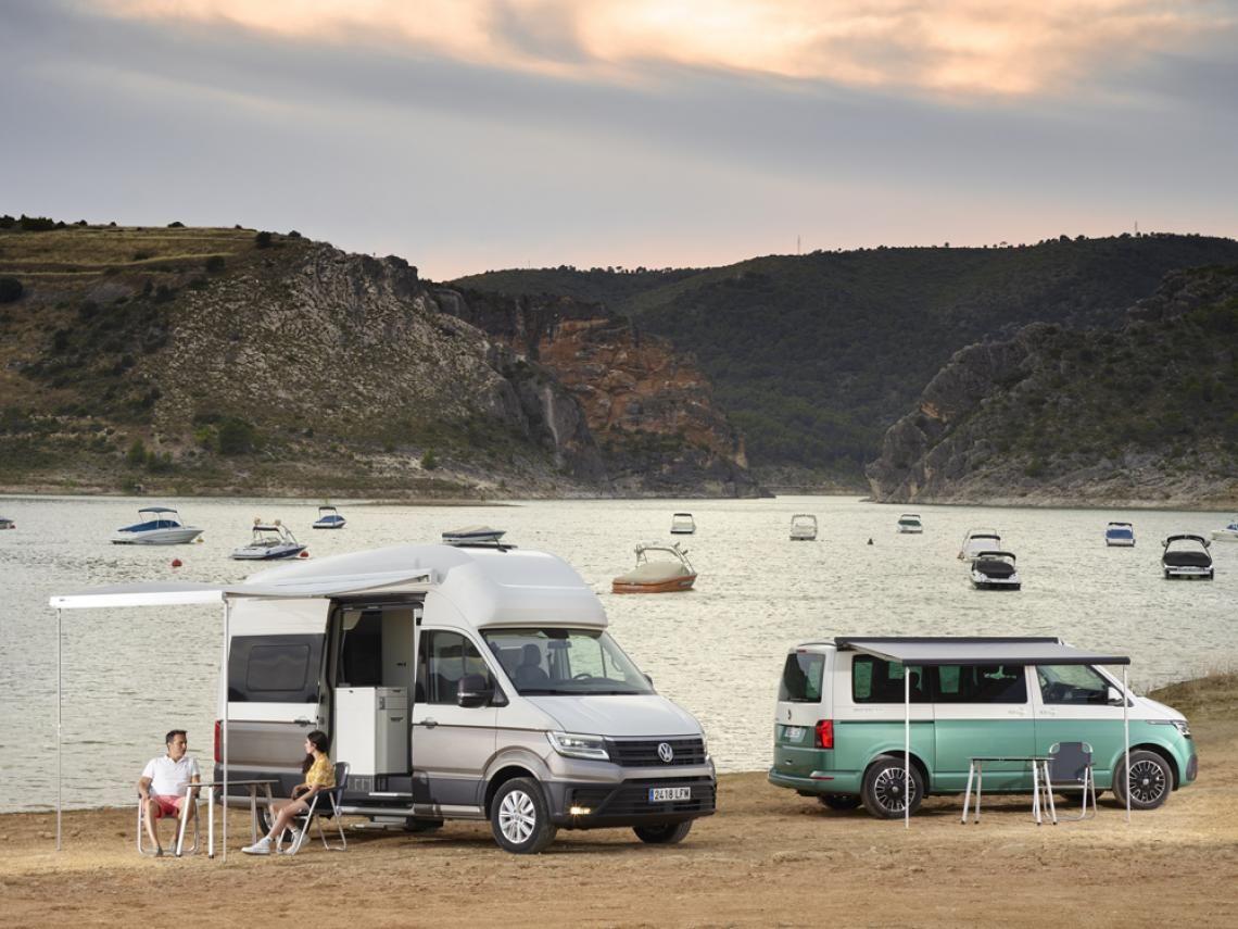 Volkswagen Actualiza La Gama Camper En Un Ano Clave En 2020 Volkswagen Baul Para Moto Volkswagen California