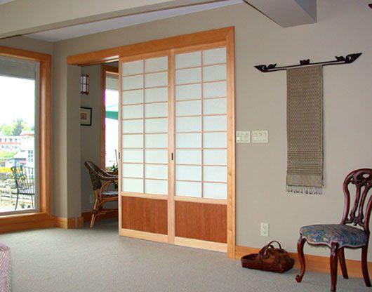 image detail for japanese u2013 sliding door by shoji design inc modern japanese sliding