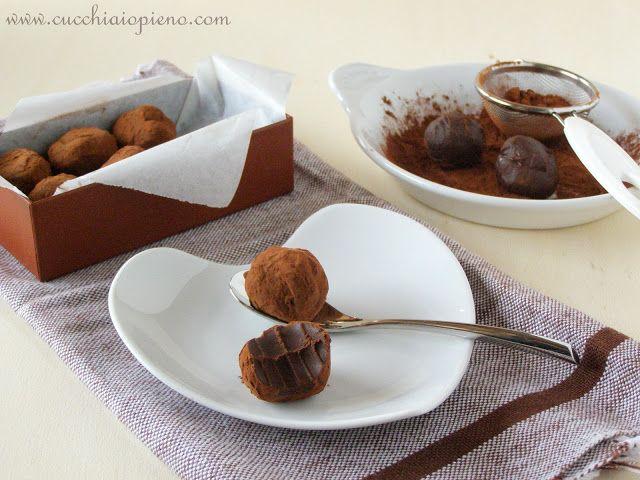 Trufas De Chocolate Com Imagens Trufas De Chocolate Receitas