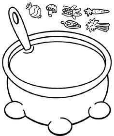 Image result for jacob and esau soup coloring page