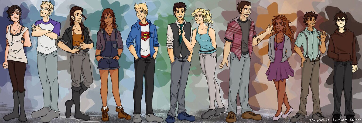 LOVE THIS! Heroes of olympus plus others!