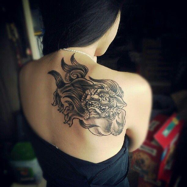 okinawan shisa tattoo google search tats pinterest tattoo tatting and tatoo. Black Bedroom Furniture Sets. Home Design Ideas