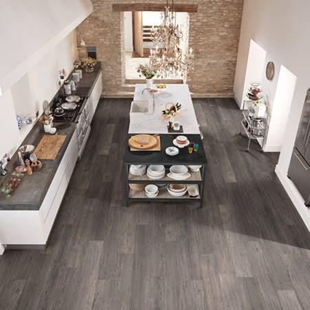 Karndean Raven Oak Looselay Vinyl Planks Vinyl Flooring Kitchen Kitchen Flooring Karndean Vinyl Flooring
