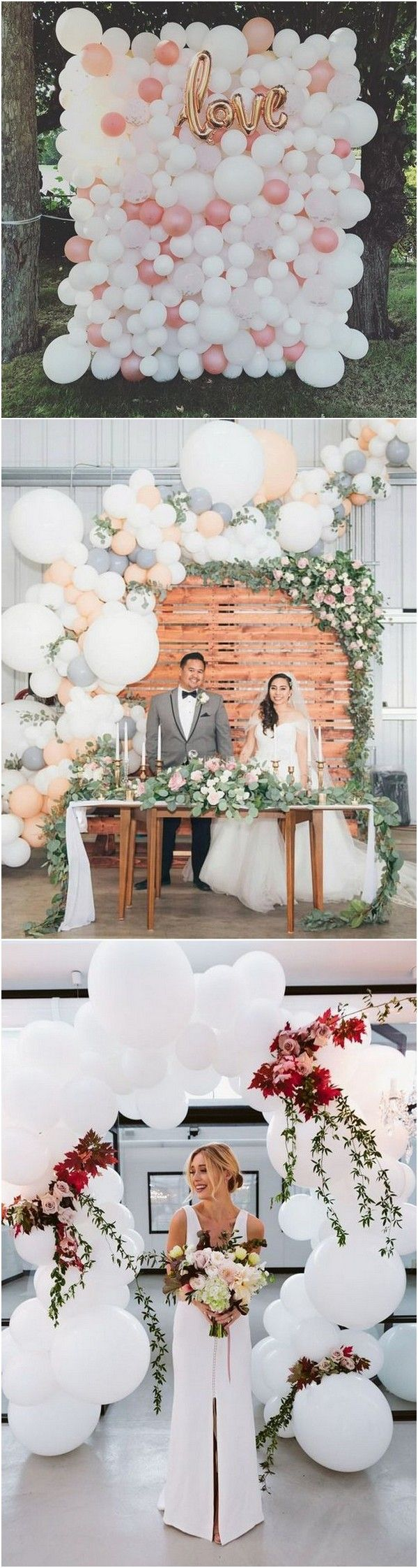 40 Awesome Wedding Decoration Ideas with Balloons