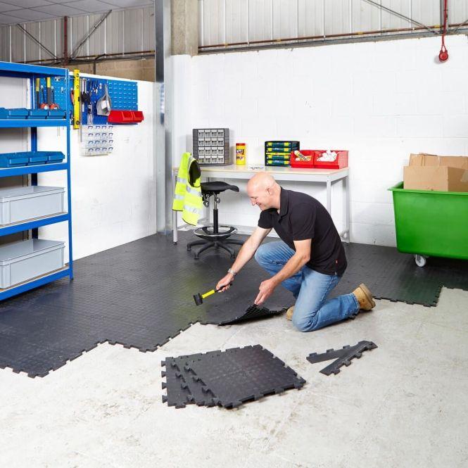 Value Interlocking Vinyl Floor Tiles Garage Floor Tiles