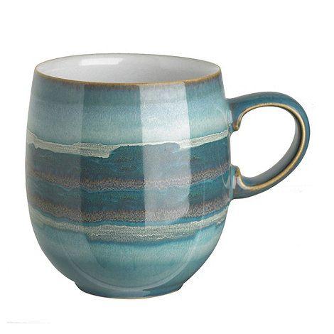 Denby Denby \u0027Azure\u0027 coast mug - Mugs - Dinnerware - Home \u0026 furniture - Debenhams Mobile  sc 1 st  Pinterest & Denby Denby \u0027Azure\u0027 coast mug- at Debenhams.com | Things | Pinterest ...