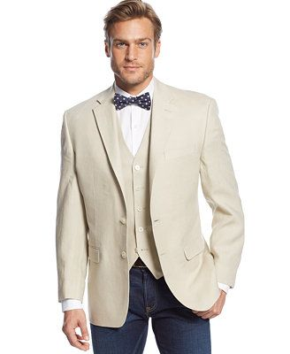 Natural Cotton Sport Coat Big