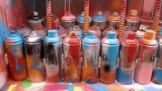 Sprays Graffiti