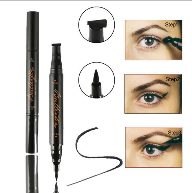 Winged Wing Eyeliner Stamp Super Fast Uk Delivery Thin