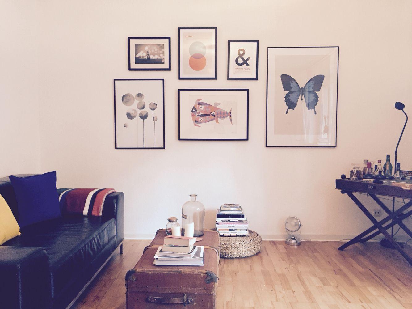 #Juniqe.de #frames ; Great idea to hang your frames