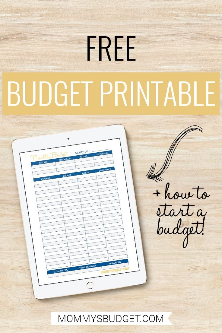 I\'m loving this simple and easy to use free budget printable! Click ...