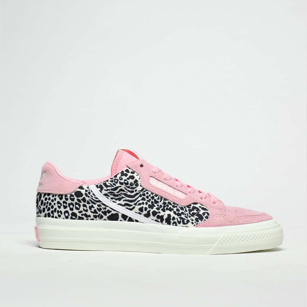 adecuado Hija Pelmel  womens black & pink adidas continental vulc trainers | schuh | Pink adidas, Adidas  trainers women, Black pink