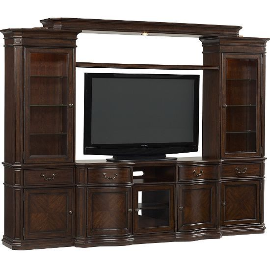 Media Rooms Bellamy Entertainment Wall Media Rooms Havertys Furniture With Images Entertainment Center Entertainment Wall Entertainment Center Decor