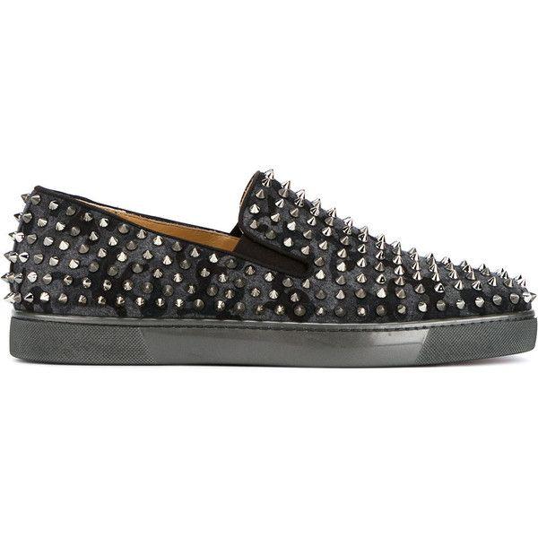 ea7ea1f215c discount code for louboutin studded sneakers 6bd53 078e0