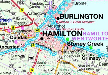 Map Of Hamilton Ontario Canada Visit and explore Hamilton, Ontario, Canada, tourism, travel guide