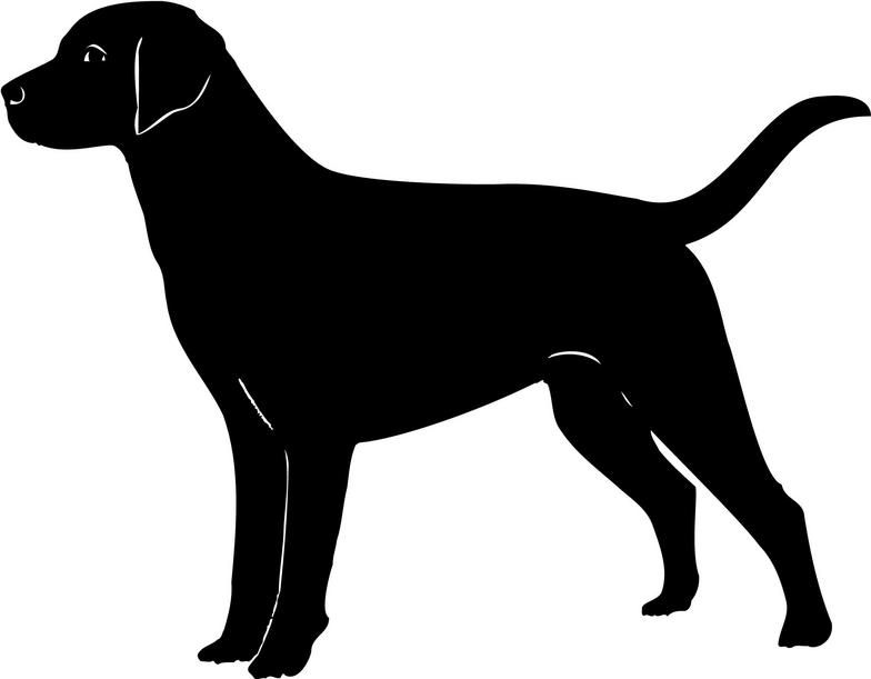 labrador cliparts silhouettes pinterest labradors clip art rh pinterest com Black Lab Head Clip Art black lab dog clipart