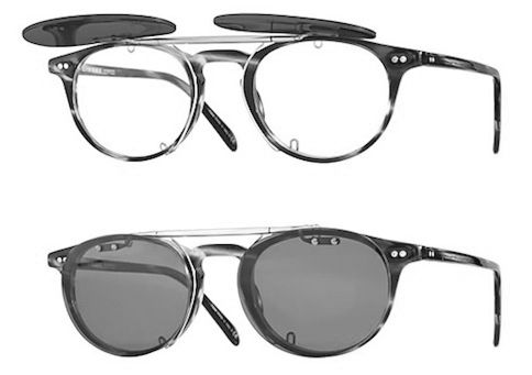 e538fef6b6 Oliver Peoples Riley R with custom clip on flip up  D