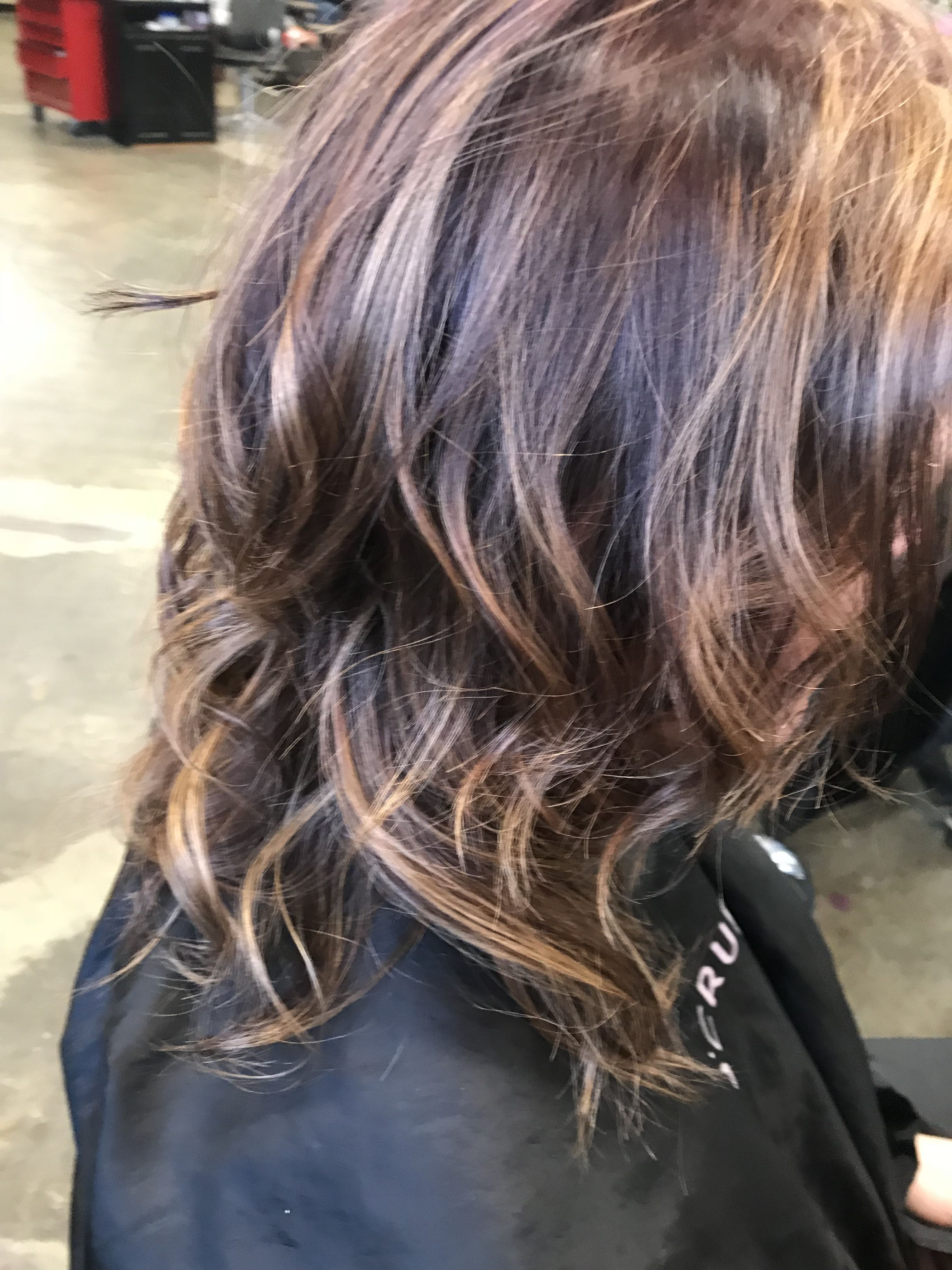 Thin fine hair. Color depth to make it look like she has ...