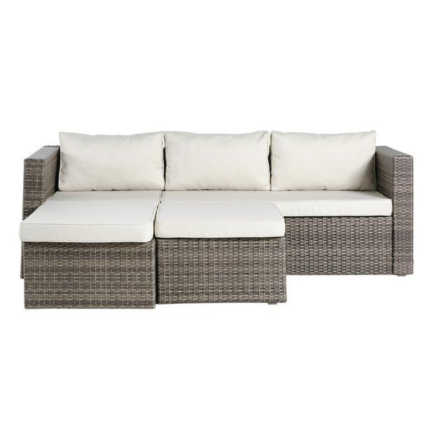 Buy HOME 3 Seater Rattan Effect Mini Corner Sofa at Argos.co.uk -. Garden ChairsGarden ...  sc 1 st  Pinterest & Buy HOME 3 Seater Rattan Effect Mini Corner Sofa at Argos.co.uk ... islam-shia.org