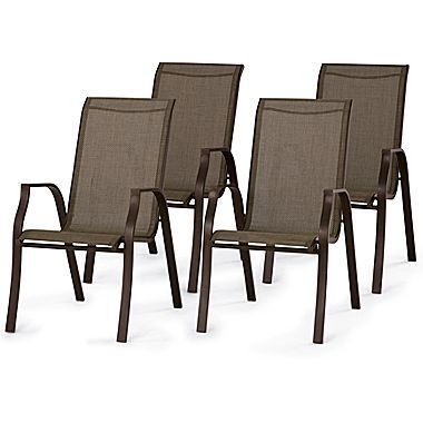 Sling Dining Chair Patio Furniture   Jcpenney