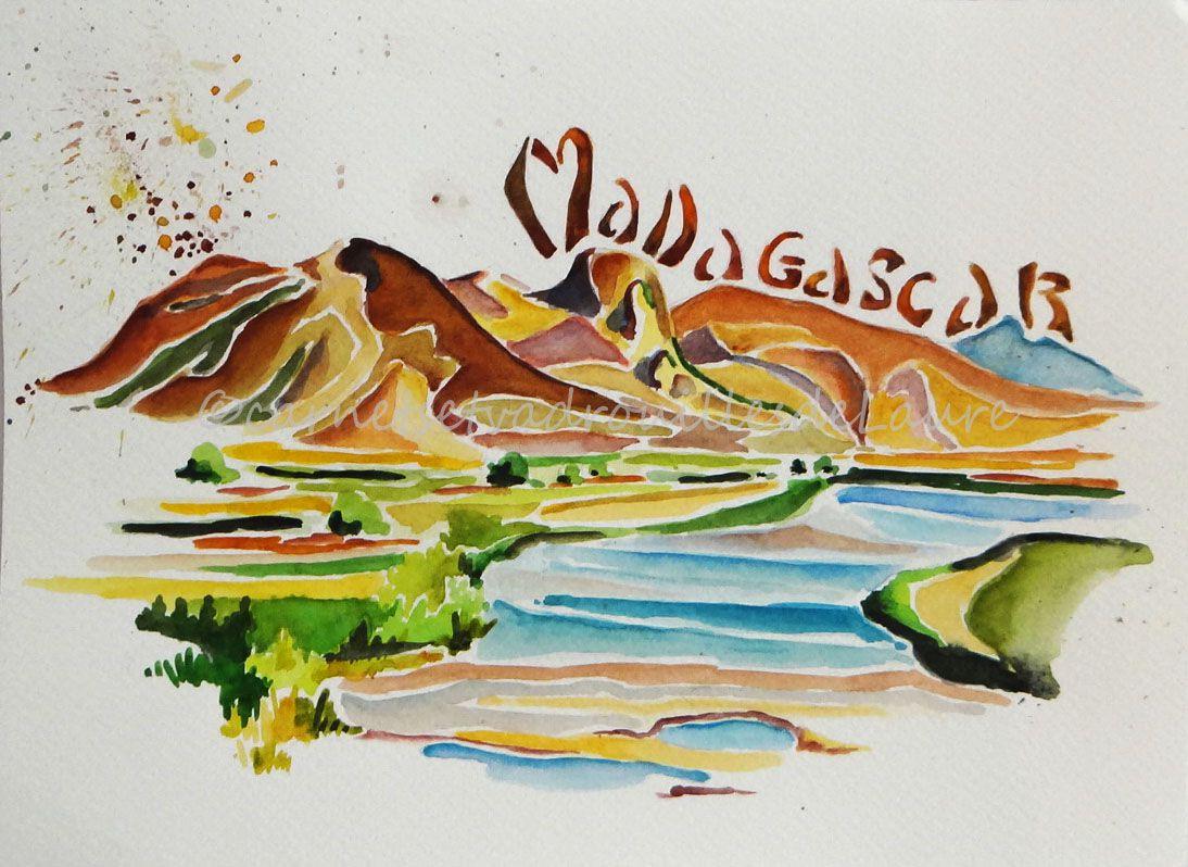 Tableau Madagascar 3 Les Arts Dessin Art Et Illustration