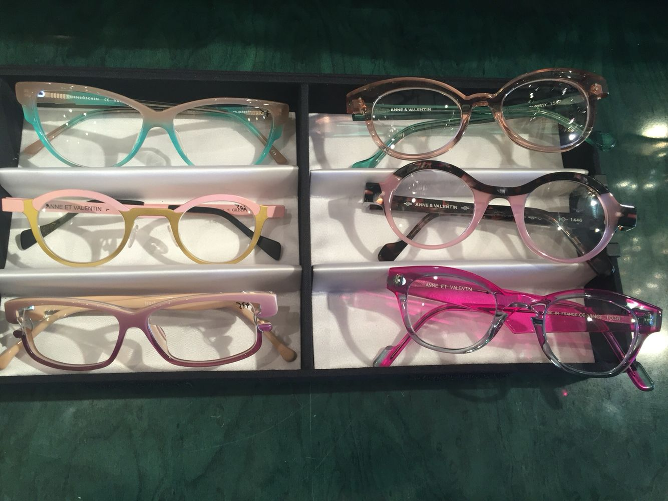 b8bcbe3973 Eye Glasses · Eyeglasses · We are Crazy about pink!  Anne Et Valentine   Frost  NEW collection