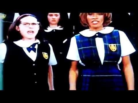 Whitney Houston on SNL w/ Mary Katherine Gallagher Christmas Skit