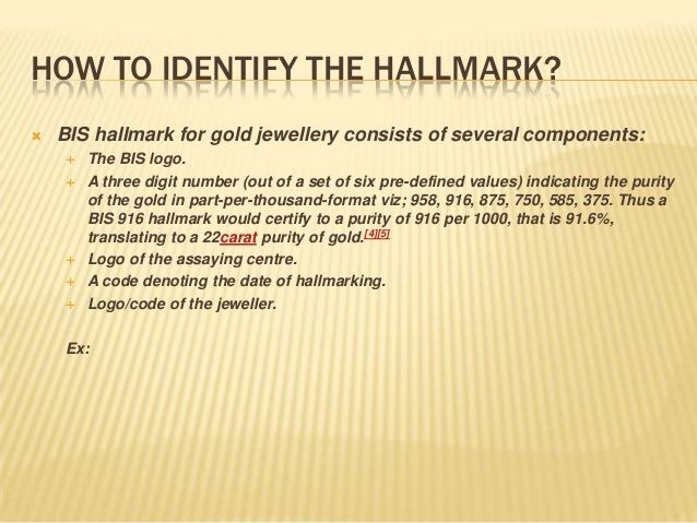 Awareness on gold jewellery Gold Hallmarks Pinterest Gold