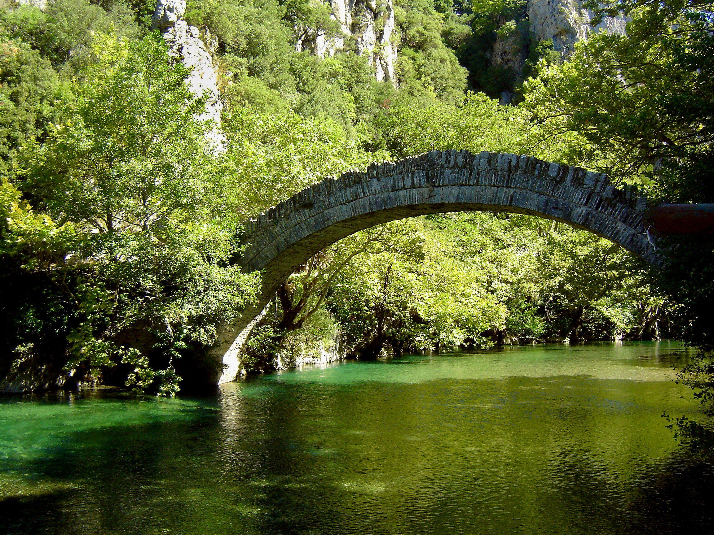 """""""Viko's old bridge"""" by tiganitos"""