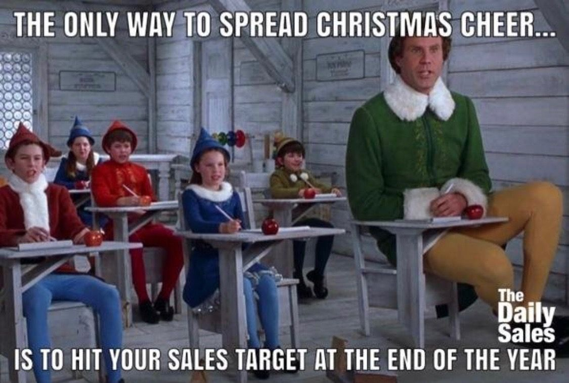 Modern Sales Training Buddy the elf