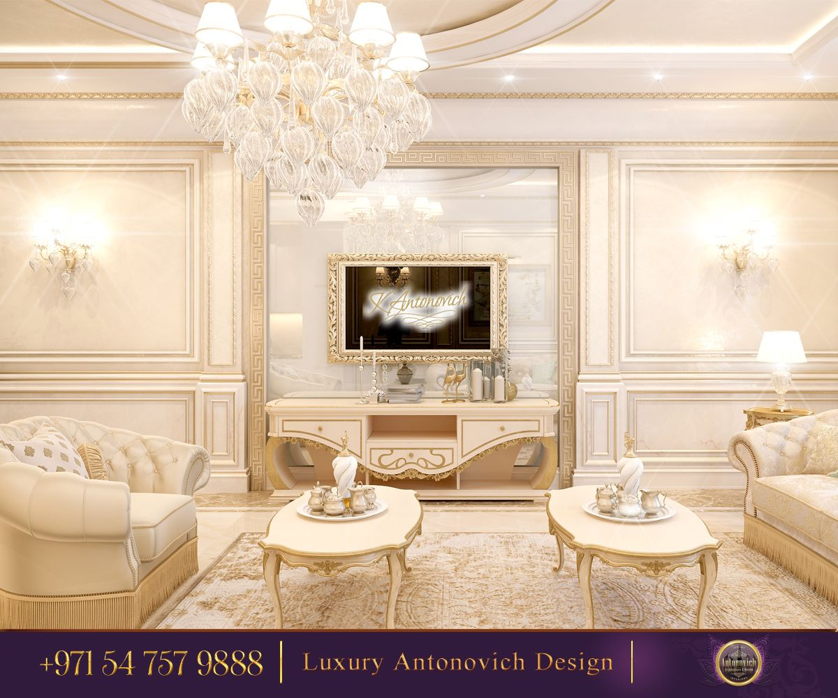 Beautiful And Luxe Interior Design From Luxury Antonovich Design A