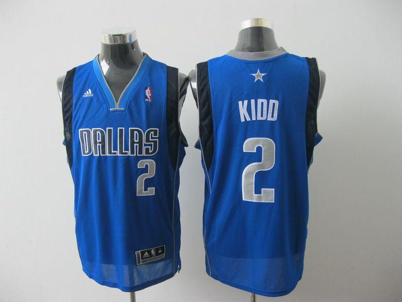 finest selection ca1cd 48504 Adidas NBA Dallas Mavericks 2 Jason KIDD Swingman Light Blue ...