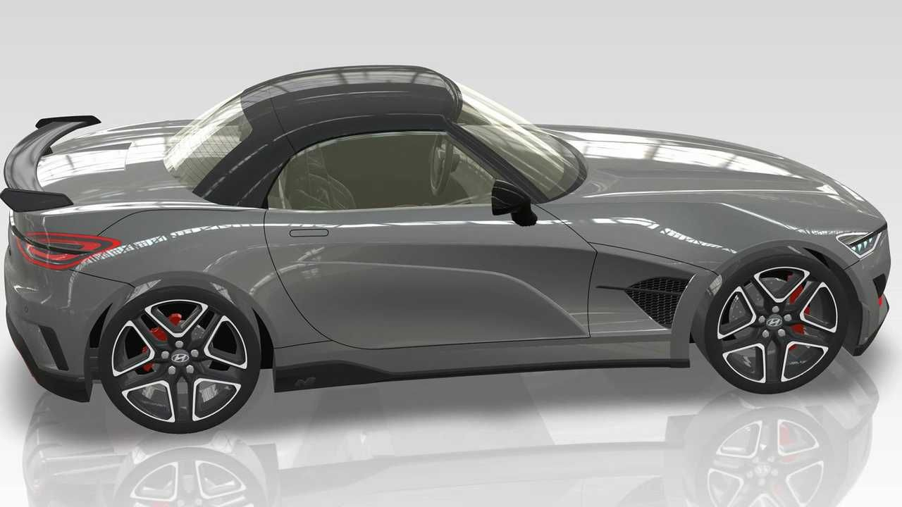Hyundai N Roadster looks exactly like an MX5 opponent,