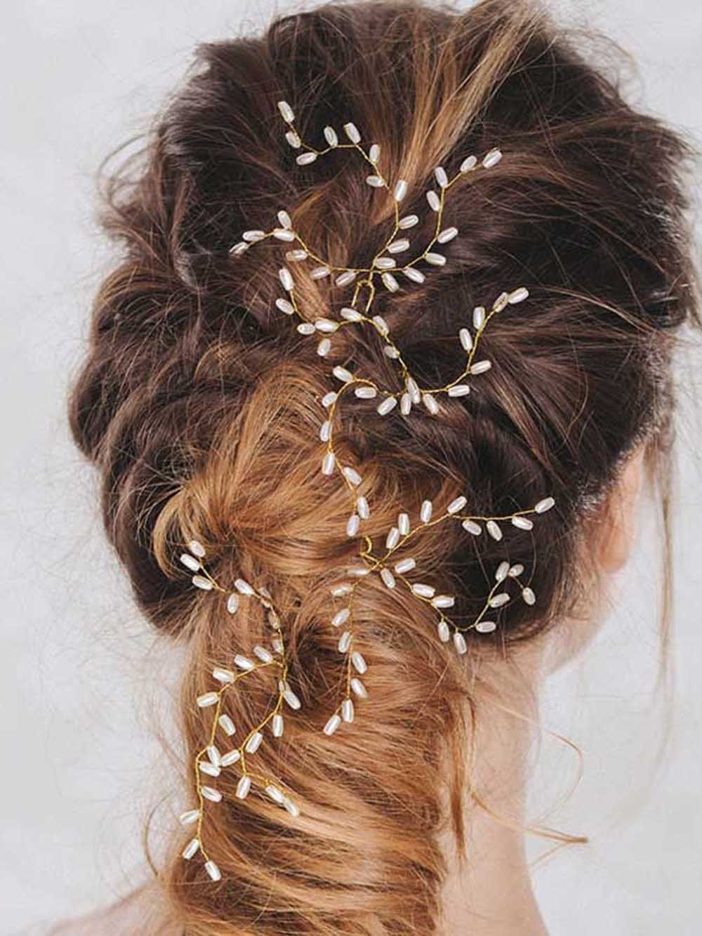 aukmla bridal wedding hair pins, accessories for women and girls