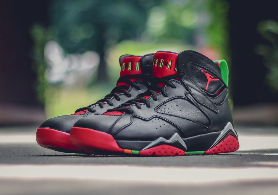 6acecb907d4 Marvin The Martian Has Landed On The Air Jordan 7 - SneakerNews.com