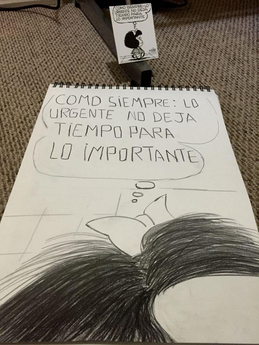 Mafalda dibujo