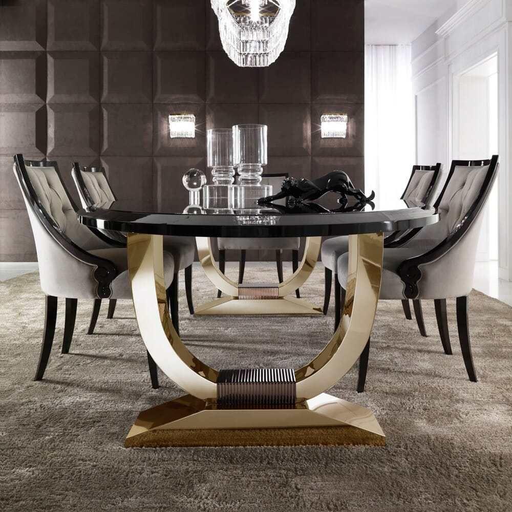 Exclusive Dining Room Furniture Modern Apartment Luxury Designer