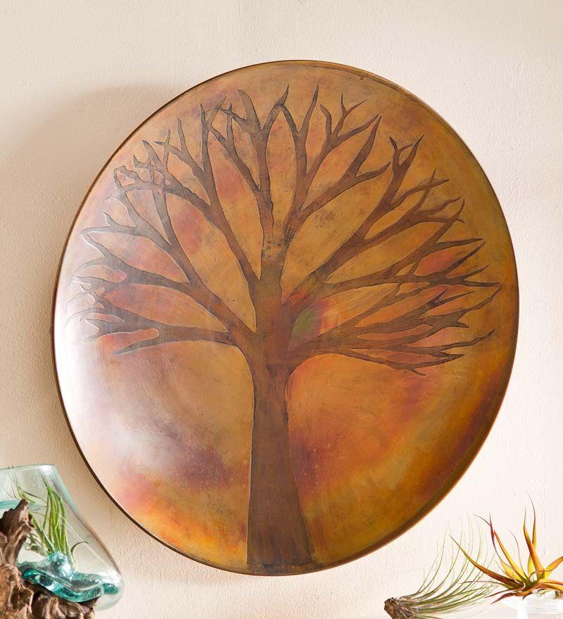 Tree of Life Decorative Bowl Wall Art