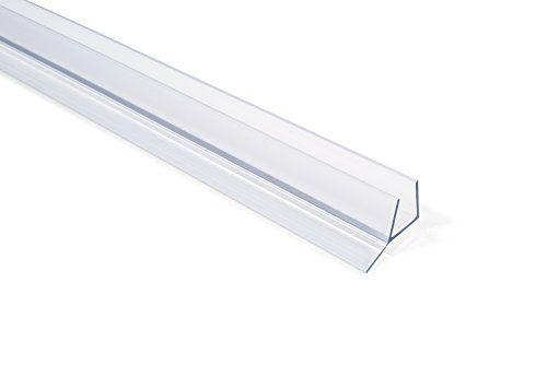 Showerdoordirect Frameless Shower Door Seal For 3 8 Inch Glass 98