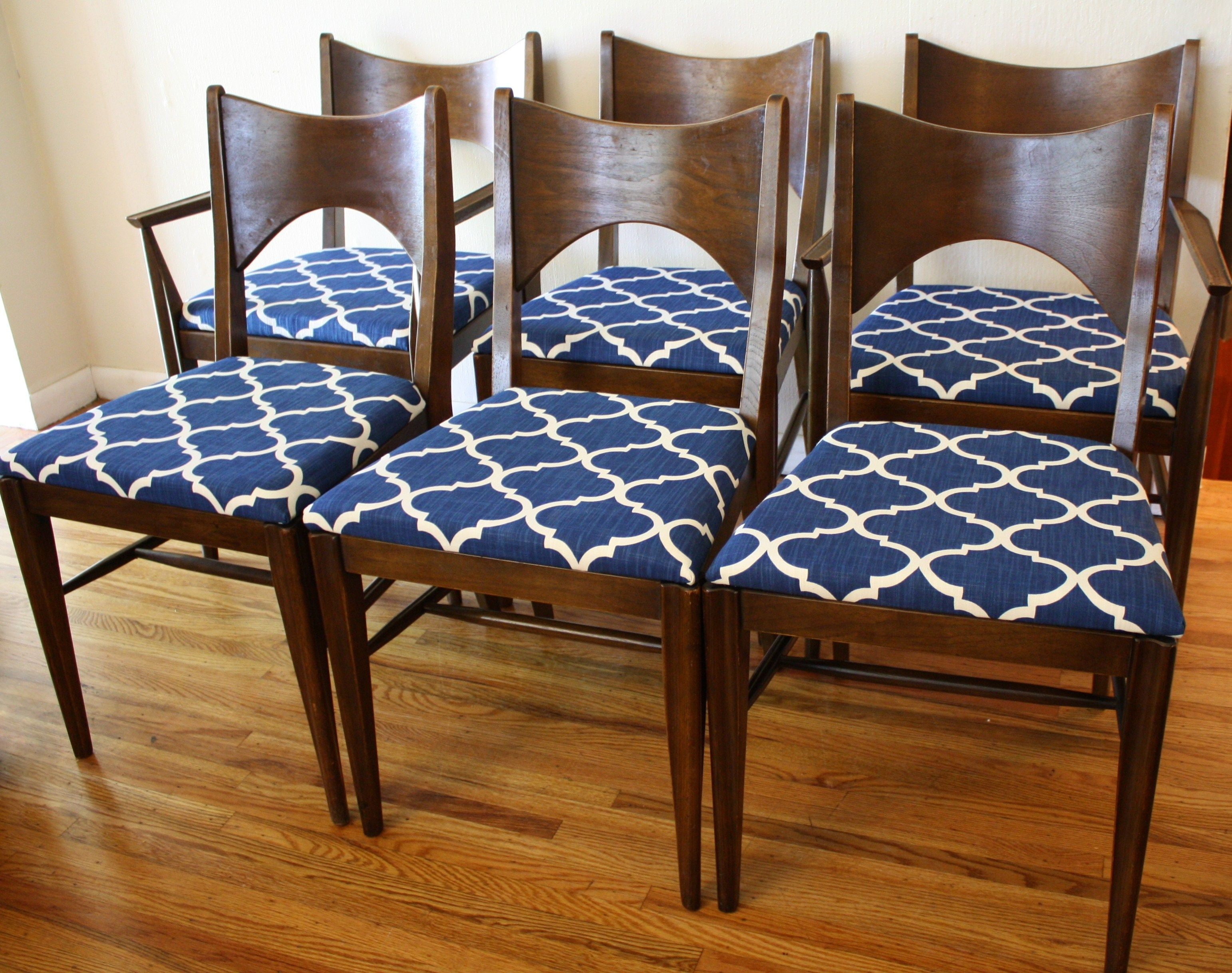 Dining Room Chair Fabric Ideas Fabric Dining Room Chairs