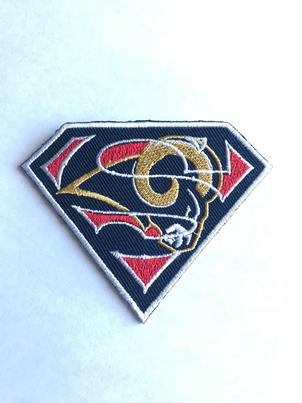 5 34 Los Angeles Rams Coliseum Super Logo Nfl Jersey Patch Iron On Sew Hoodie Jacket Ebay Collectible Los Angeles Rams Nfl Jerseys Hoodie Jacket