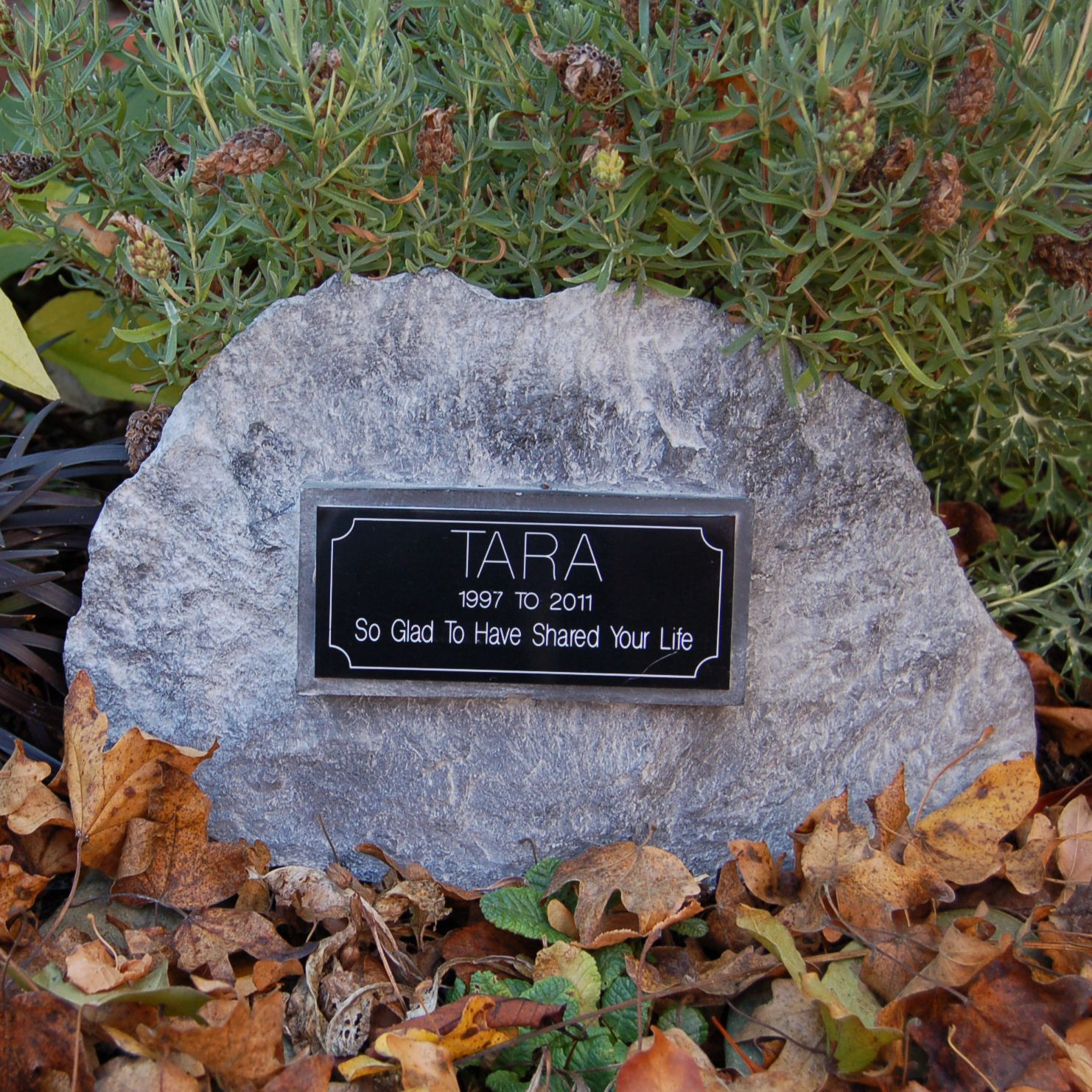 Incorporating Stone Plaques For Memorial Garden Memorial