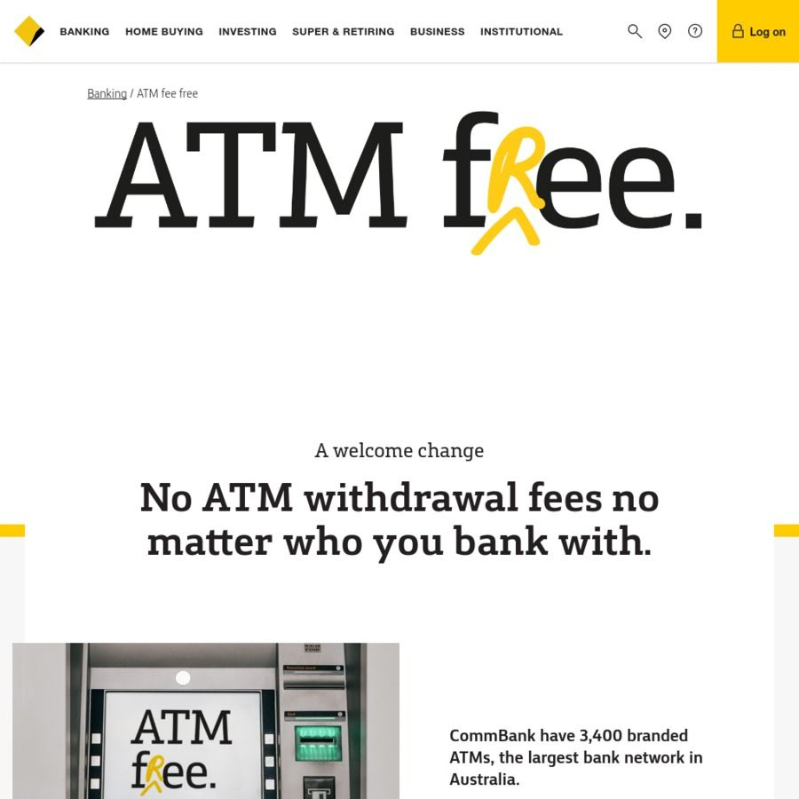 Commonwealth Bank No Atm Withdrawal Fees Matter Who You With