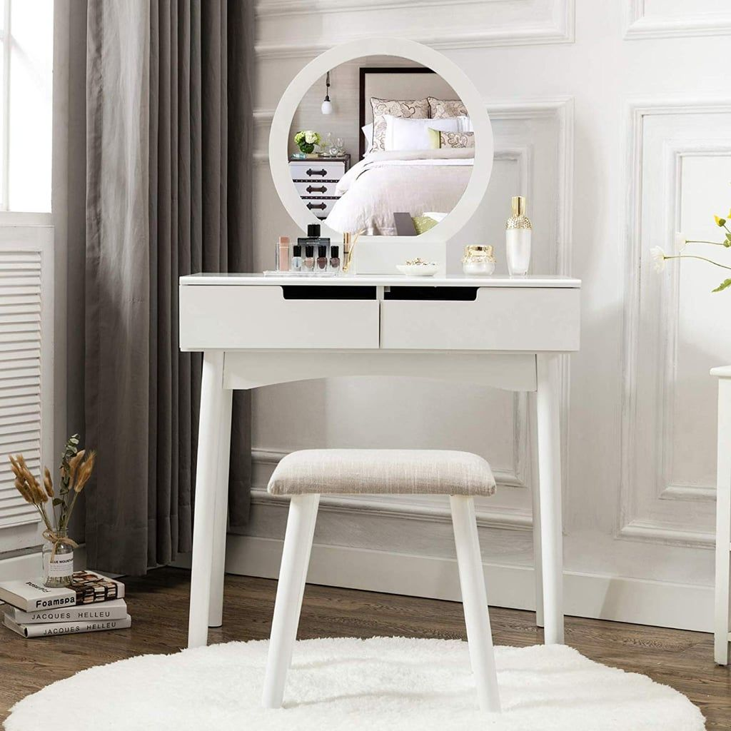 Honbay Vanity Table Set With Images