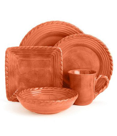 Artimino Tuscan Countryside Terracotta Dinnerware. Now what color to paint kitchen?  sc 1 st  Pinterest & Artimino Tuscan Countryside Terracotta Dinnerware. Now what color ...