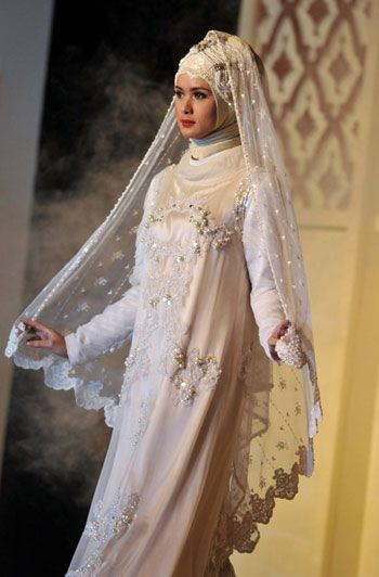 Muslim Wedding Dresses For Brides Semuamuat Beautiful Dress Options