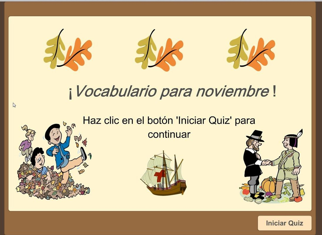 Pin By The Learning Patio On November Noviembre