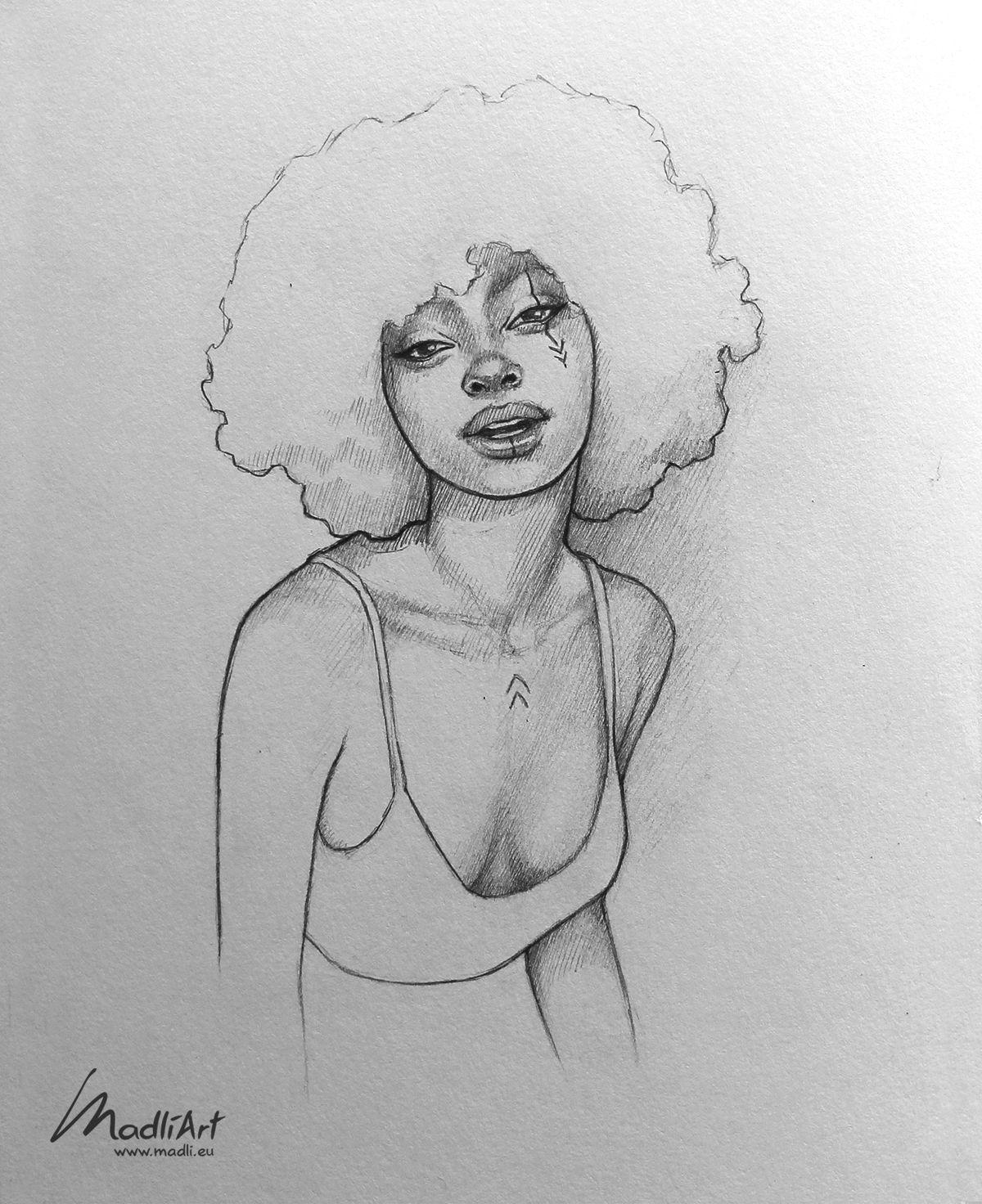 Pencil Line Art Sketch Line Art Drawings Girl Drawing Sketches Art Drawings Sketches