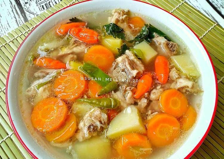 Resep Sop Tulang Ayam Oleh Susan Mellyani Resep Resep Masakan Resep Masakan